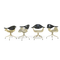 daf chairs (4 works) by george nelson