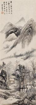 溪外云峰 by tang yifen