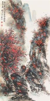 衡山秋色 by li xiongcai