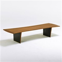 coffee table by harvey probber