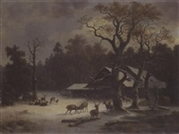 wildfütterung by wilhelm reinhardt