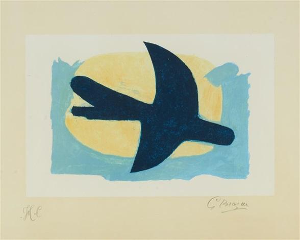 oiseau bleu et jaune by georges braque on artnet. Black Bedroom Furniture Sets. Home Design Ideas