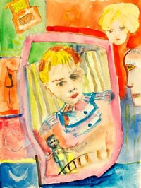 portrait of the son of the artist's danish hostess by henry miller