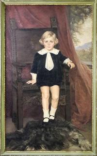 ritratto di fanciullo vestito alla marinara by nera simi