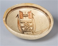 small hopi/tewa bowl by nampeyo