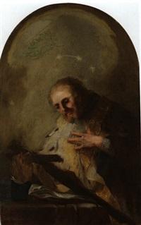 der heilige johannes von nepomuk by franz joseph spiegler