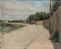 kanalen ved arsenaløen by albert gottschalk