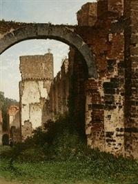 les ruines de villers-la-ville by françois stroobant