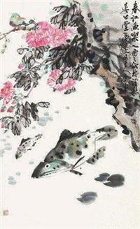 春江鱼乐 by xiao ping
