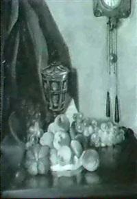 stilleben mit pfirsichen by erik homann-webau