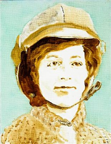 harriett quinby the first female pilote to fly over the english channel by simone aaberg kaern