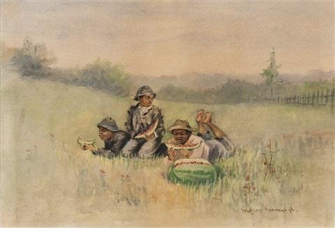 the watermelon boys after winslow homer by marion kavanaugh wachtel