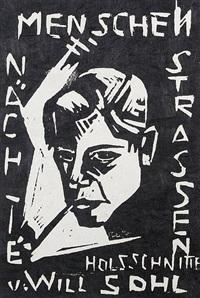 menschen, nächte, strassen (portfolio of 13 w/ title) by will sohl