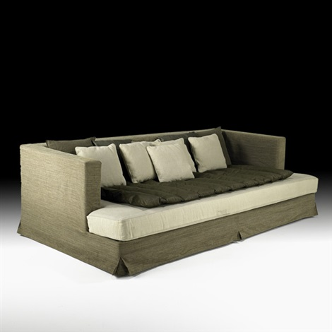 custom sofadaybed by christian liaigre