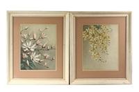 cassia fistual linn (+ magnolia stellata maxim; pair) by thakur ganga singh
