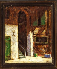 courtyard, new orleans by marshall d. smith