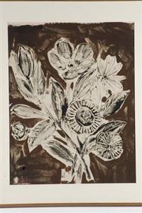 mazzo di fiori monocrono by oscar saccorotti
