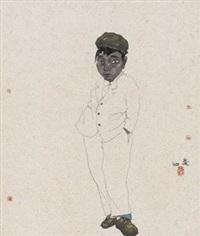 青少年 (character) by liu qinghe