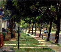 street scene by frank c. herbst