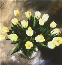 gelber tulpenstrauß by reiner staudacher