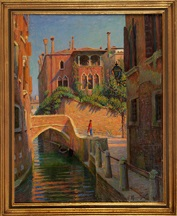 nsicht des palazzo dario am campiello barbaro in venedig by paul hoeniger