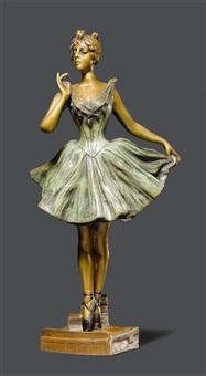 skulptur by emmanuel villanis