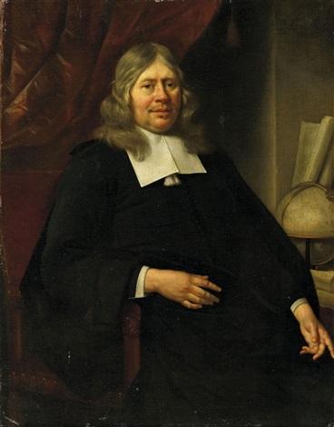 portrait eines gelehrten herren by jan van neck