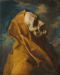 kopf eines alten mannes by giuseppe antonio petrini