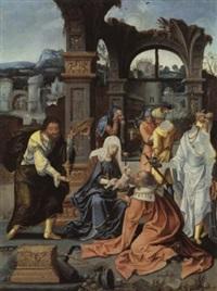 die anbetung der könige by jan van dornicke