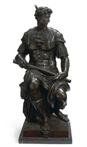 giuliano de medici by michelangelo