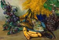 uvas y ciruelas moradas by joan fuster bonnin