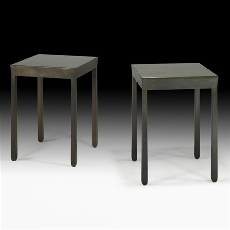 sofa tables pair by christian liaigre