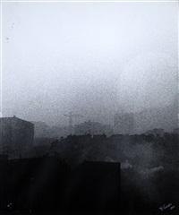 milano nella nebbia by franco vaccari