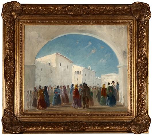 fiesta, pueblo, los angeles by marian mccartney raulston