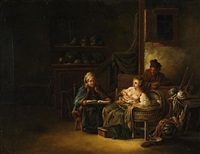 familienglück by johann eleazar schenau