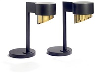 two table lamps by jean jacques baruel