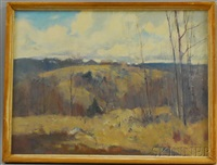 november, southboro hills by charles curtis allen