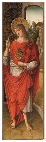 saint john the evangelist by spanish school 15