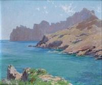 paisaje de mallorca by enrique simonet castro