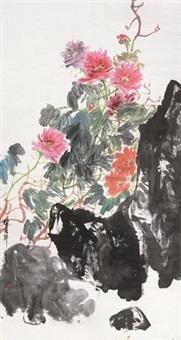 牡丹图 (peony) by xu yuanqing