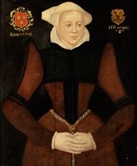 portraitbildnis einer reichen bürgersfrau by anonymous-german (16)