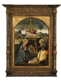 the adoration of the child by marcantonio aquilio