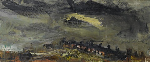 catterline in a storm by joan kathleen harding eardley