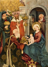 the adoration of the magi by anonymous-german (15)