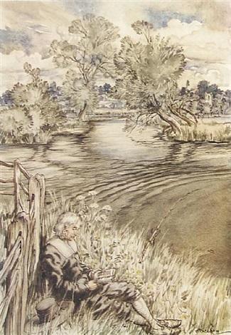 The Complete Angler Bk By Izaak Walton Wworks 4to By Arthur Rackham