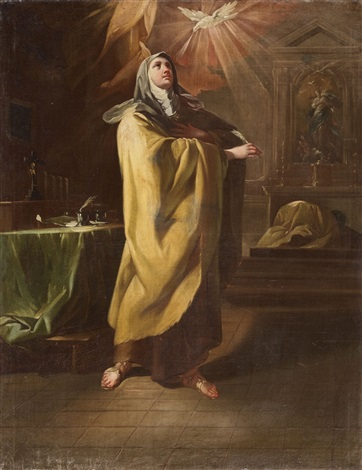 saint teresa of avila by corrado giaquinto