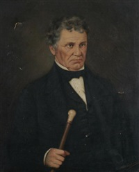 portrait of william camp gildersleeve of wilkes-barre, pa by albert dalzbramers