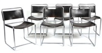 chaises (set of 6) by claire bataille and paul ibens