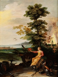 allegorie des friedens by jasper van der laanen