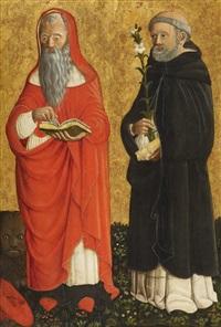 saint jerome and saint dominic by cristoforo di benedetto